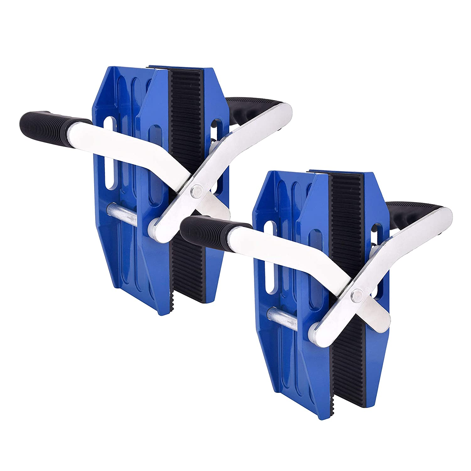 Plate Clamp Double Handed Stone Carrying Clamps Lifting Clamps Porterage Tools for Transporting of Glass Slabs//Metal Sheet//Granite Island//Countertop,Roadside Stone Clamp Curb