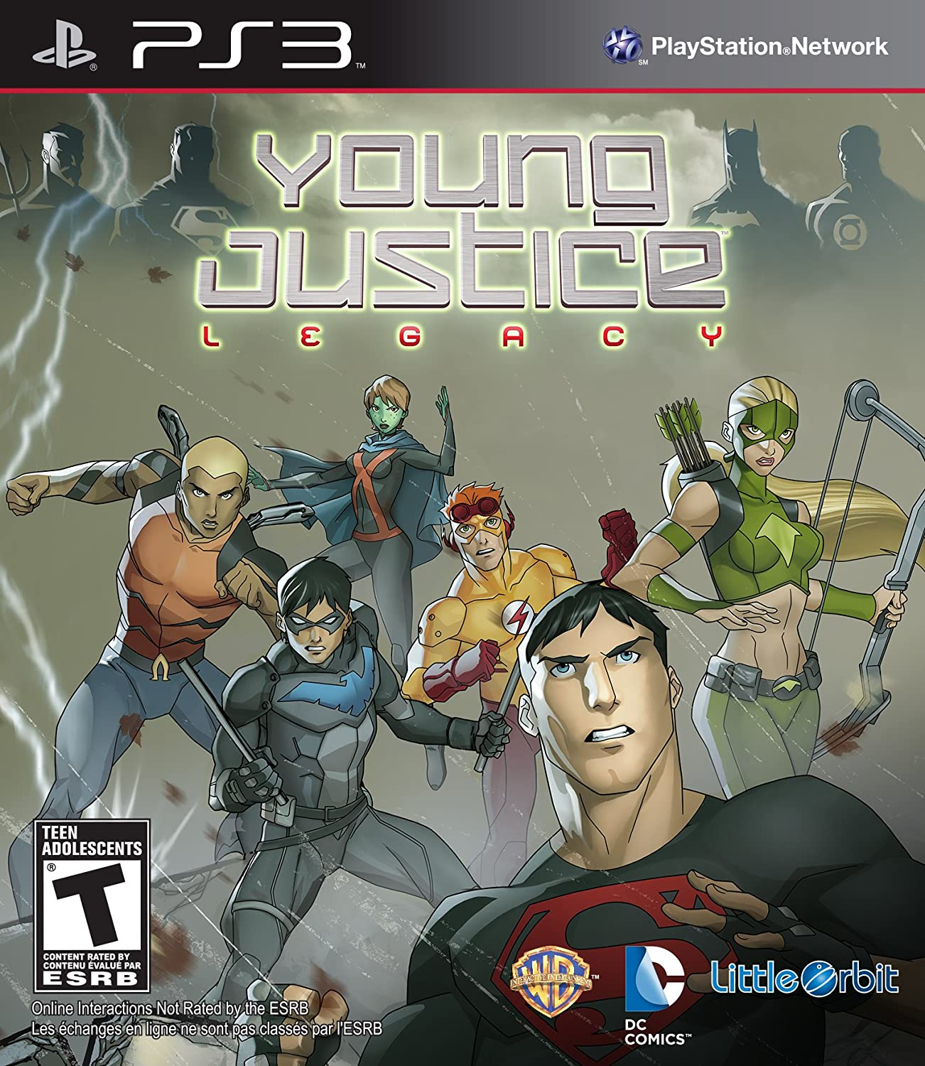Amazon com: Young Justice: Legacy - Playstation 3: Video Games