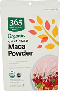 365 by Whole Foods Market, Organic Maca Powder, Gelatinized, 8 Ounce