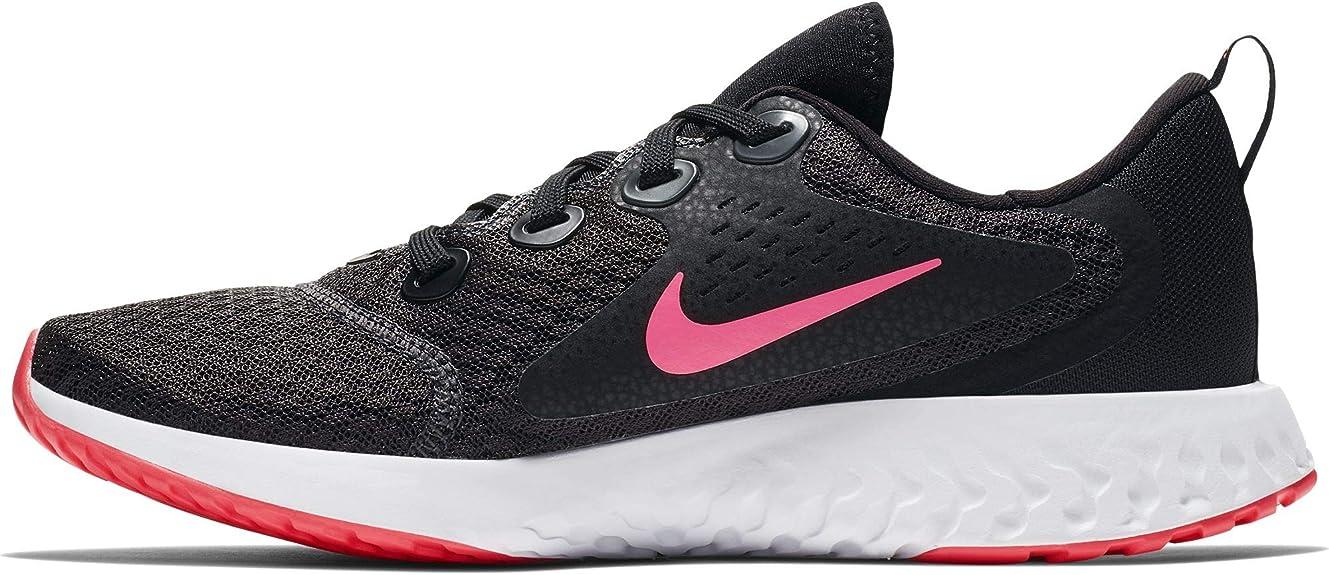 Nike Legend React (GS), Zapatillas de Running para Mujer, Multicolor (Black/Racer Pink/Anthracite/White 001), 38.5 EU: Amazon.es: Zapatos y complementos