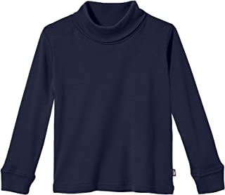 product image for Boys and Girls Turtleneck 100% Cotton in Basic Colors for Kids School Base Layering - USA Made