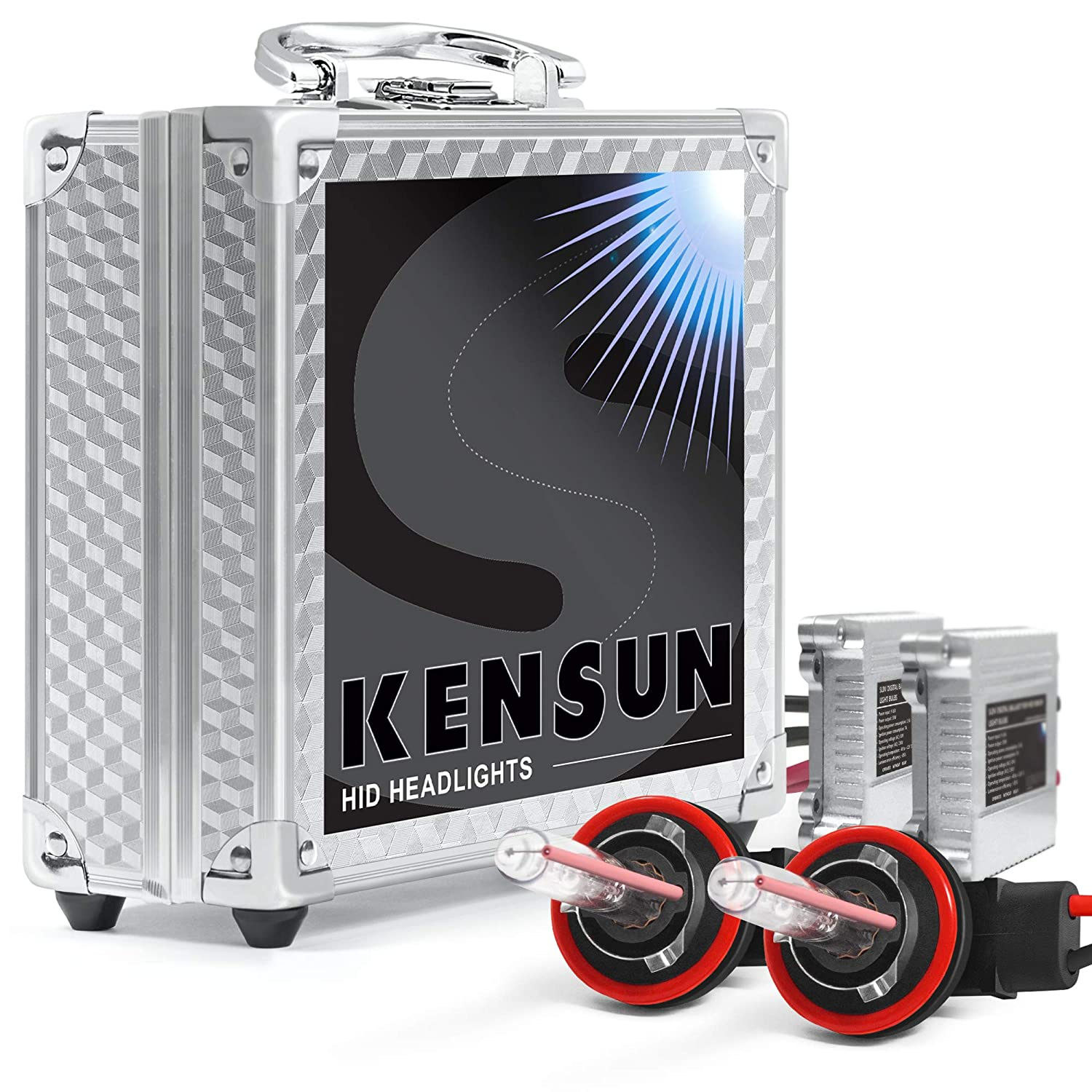 Xenon Hid Conversion Kit Wiring Diagram Kensun All Bulb Sizes And Colors With Slim Digital Ballasts H11 6000k 2 Year Warranty Automotive