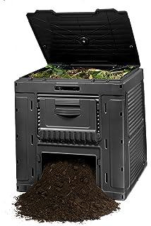 Keter - Compostador e-composter con capacidad de 470 L. Color gris oscuro
