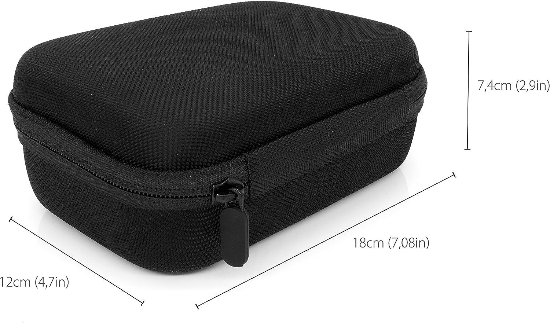 MyGadget Tragetasche Portable Koffer Case f/ür z.B Transport Schutz Tasche f/ür Actionkamera /& Zubeh/ör Gr/ö/ße M GoPro Hero Black 8 7 6 5 4 3+ 3 // Xiaomi Yi 4K