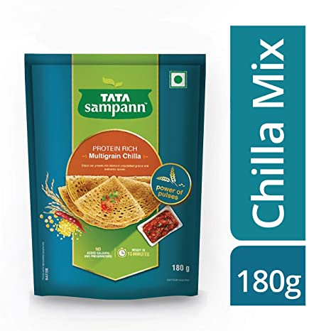 Tata Sampann Multigrain Chilla Mix, 180g