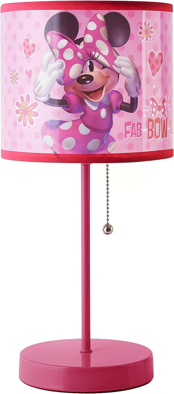 Disney Minnie Mouse Stick Lamp, Pink