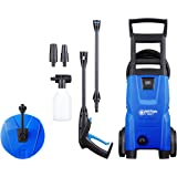Nilfisk EU 128471007 C 120.7-6 PC Hochdruckreiniger, 1400 W, schwarz, blau