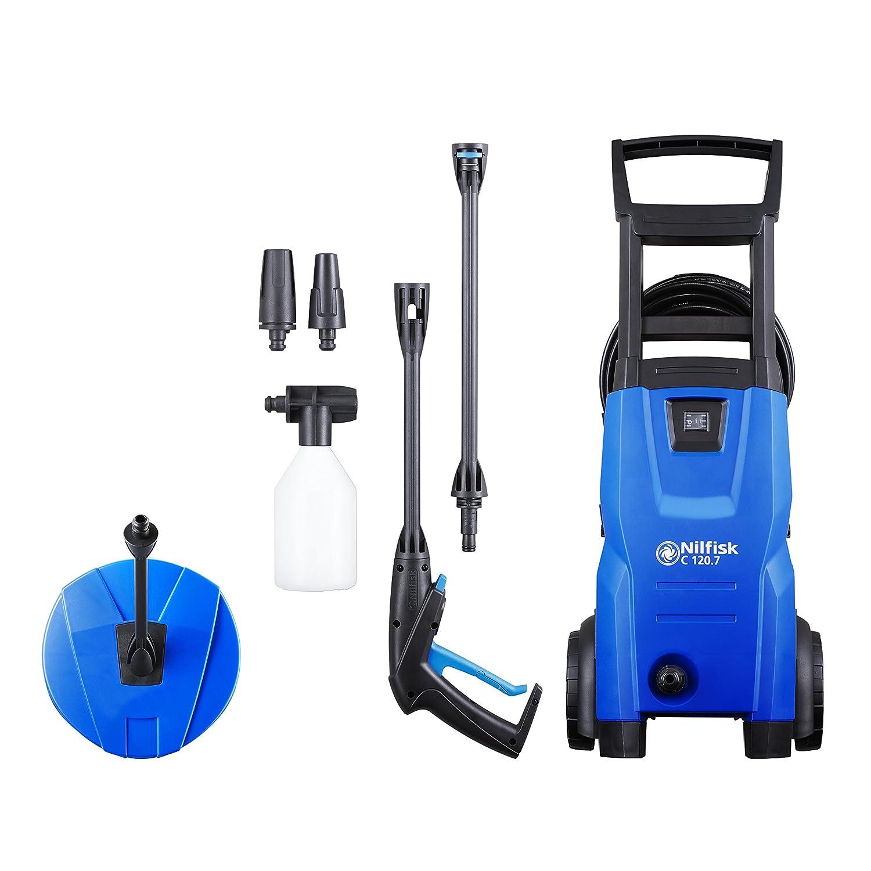 1400 W Nilfisk EU 128471007 C 120.7-6 PC Hochdruckreiniger schwarz blau