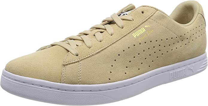 Puma Court Star Sneaker Damen Herren Unisex Beige (Pebble)