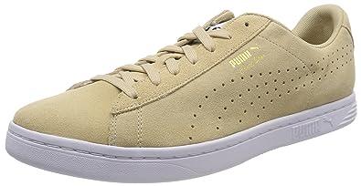 Puma Herren Sneaker Court Star SD 364581  40.5 EUPuma Black-puma White-gold