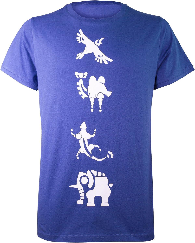 Musterbrand Zelda T-Shirt Hombre Champions 100% Algodón Azul: Amazon.es: Ropa y accesorios