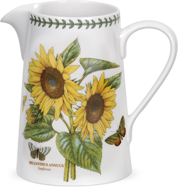Portmeirion Botanic Garden Bella Jug, Sunflower Motif