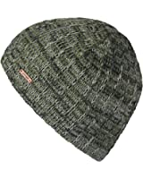lethmik Knit Skull Beanie Cap Winter Warm Daily Hat With Mix Mesh Knitted