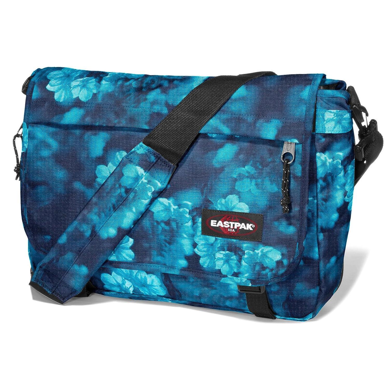 One Size Eastpak Messenger Bag, Delegate, Black Raving red, EK076