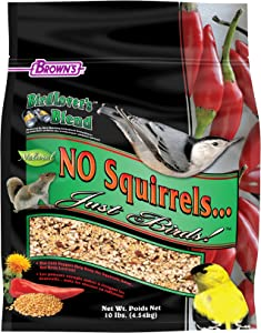 F.M.Brown'S Bird Lover'S Blend No Squirrels…Just Birds! Food, 10 Lb