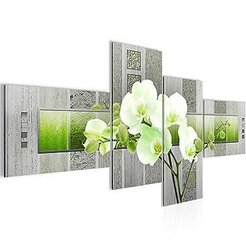 Amazon.de: prestigeart Bilder Blumen Orchidee Wandbild Vlies ...