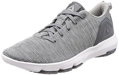 Reebok Men s Cloudride DMX 3.0 Alloy Stark Grey White Nordic Walking Shoes  - 10 eaa1df299