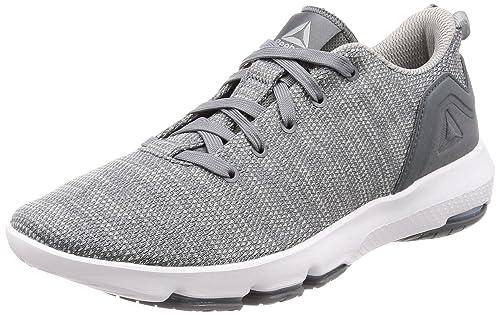 6ef191edb1b Reebok Men s Cloudride DMX 3.0 Alloy Stark Grey White Nordic Walking Shoes  - 10