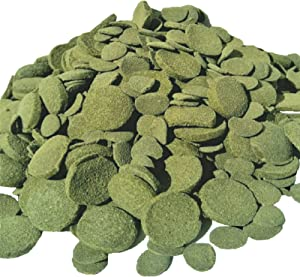 Aquatic Foods Inc. Wafers Mixed Size Wafers of Spirulina, Algae, Wafers for Plecos, Catfish & More 1-lb
