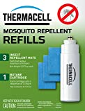 Thermacell R-1Mosquito Repeller Refill,12 HourPack (3 Repellent Mats and 1 Butane Cartridge)