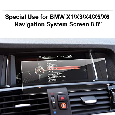 LFOTPP Tempered Glass Navigation Infotainment Center Touch Screen Protector for BMW X1 X3 X4 X5 X6 M40i 8.8-Inch Screen,Anti-Scratch Car Accessories: GPS & Navigation