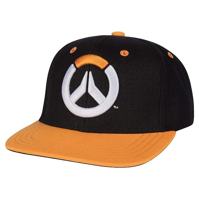 7c0c3f3ccdaef Amazon.com  JINX Overwatch Showdown Snapback Baseball Hat (Black ...