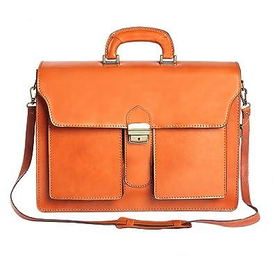 nuovo stile 51a56 91b9b Portadocumenti in pelle italiana, Cartella Borsa da Lavoro Uomo ...