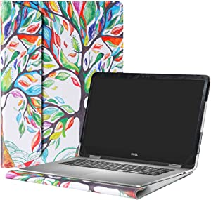 """Alapmk Protective Case Cover For 15.6"""" Dell Inspiron 15 2-in-1 7573 i7573 & Inspiron 15 i7570 i7580 7570 7580 Laptop(Warning:Only fit model 7573 7570),Love Tree"""