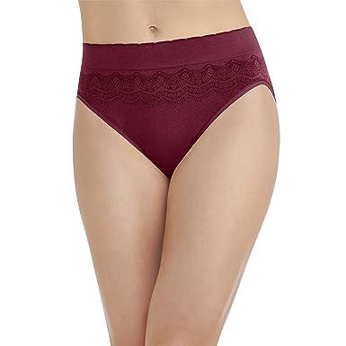 5f7593eb4b7a Vanity Fair Women's No Pinch-No Show Seamless Hi Cut Panty 13171, Speakeasy,