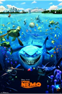 Amazon finding nemo pixar movie poster regular style trends international finding nemo cast wall poster 22375 thecheapjerseys Images