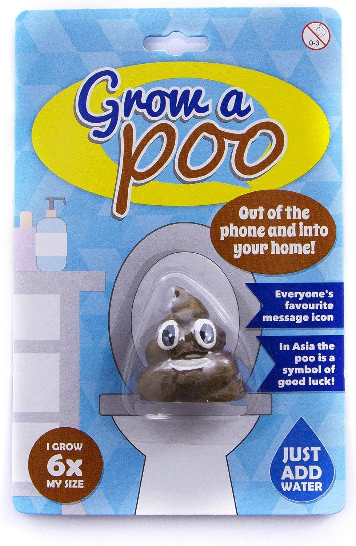 Stocking Filler Grow Your Own Poo Smiley Emoji Toy Joke,Secret Santa