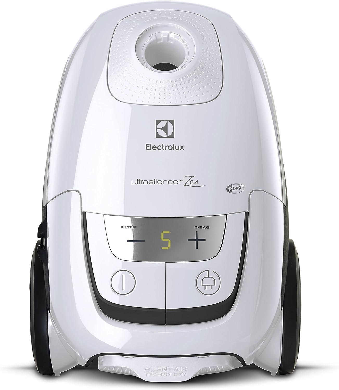 Electrolux - Aspiradora UltraSilencer™ Zen - Aspiradora con bolsa - Incluye accesorio AeroPro - Bolsa S-bag® Clinic antialérgico - Sistema Motion Control - Capacidad 3,5 L Bianco: Amazon.es: Hogar