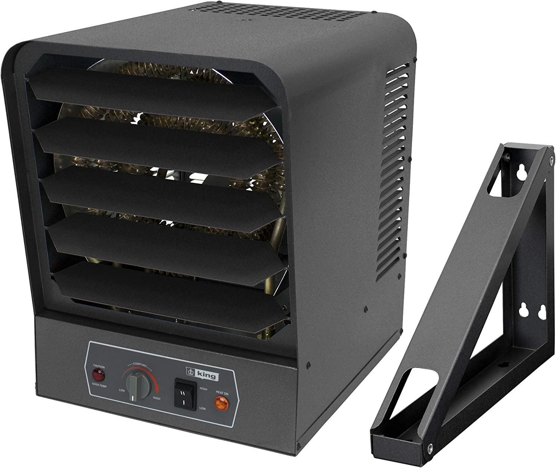 Amazon.com: KING GH2407TB Electric Garage Heater w/Bracket and Thermostat,  7500W / 240V: Home & Kitchen  Amazon.com