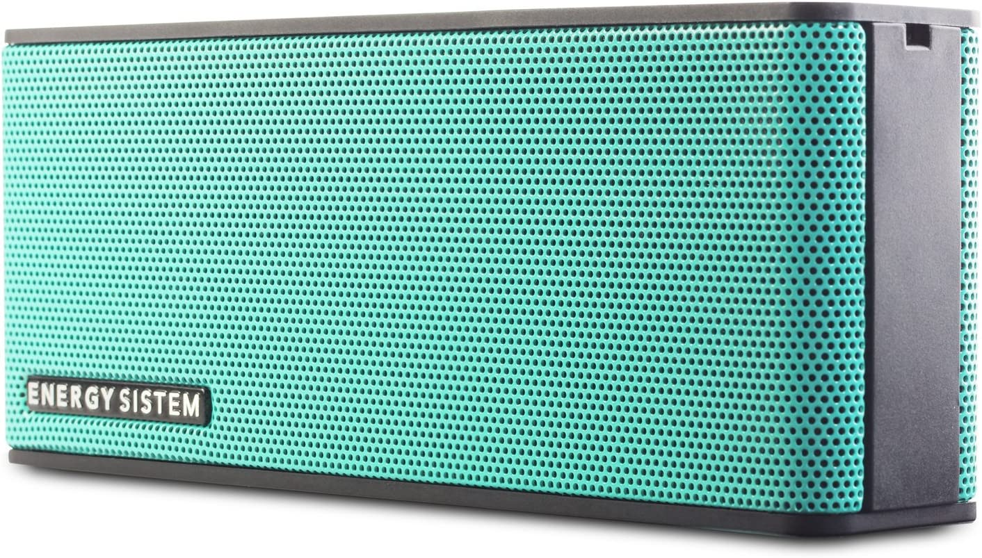 Energy Sistem Music Box B2 Bluetooth (Bluetooth, Entrada de Audio, Manos Libres, Batería)- Verde Mint