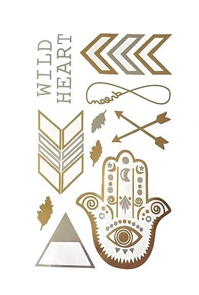 Brillantes y lentejuelas, diseño de tatuajes provisionales ...