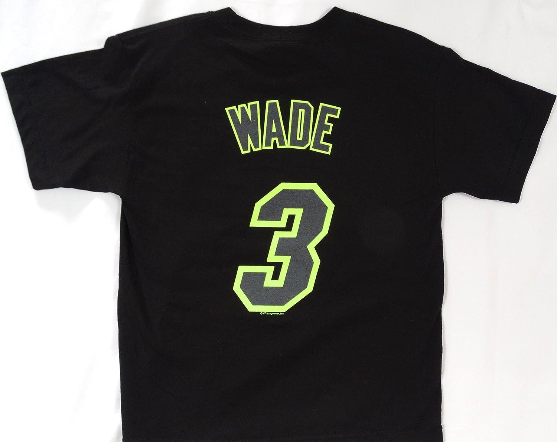 Miami Heat Dwyane Wade majestuoso #3 camiseta Youth talla M: Amazon.es: Deportes y aire libre