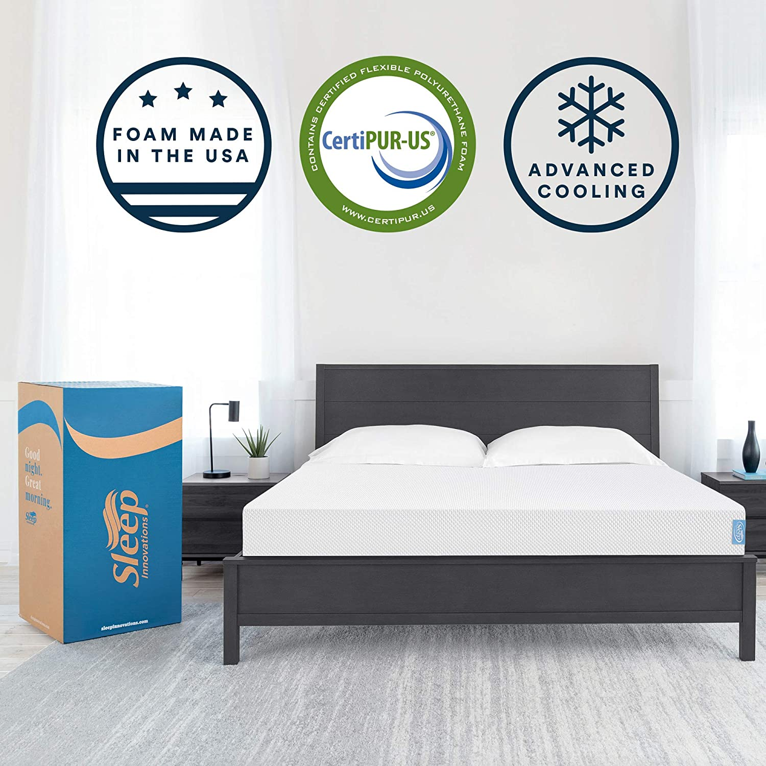 Top 10 Best Memory Foam Mattress (2020 Review & Buying Guide) 5