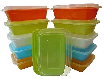 Amazon.com: Ttg 20-Pack Bento Almuerzo Cajas de almacenaje ...