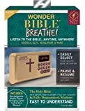 Wonder Bible Breathe- The Audio Bible Player That Speaks, New Living Translation, New Testament, As Seen on TV
