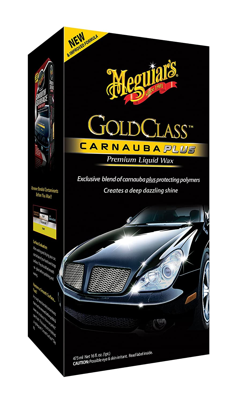 Meguiar's G7016EU Gold Class Liquid Wax Autowachs, 473ml Meguiar' s Car Care Products ME G7016 B001B0VC5K