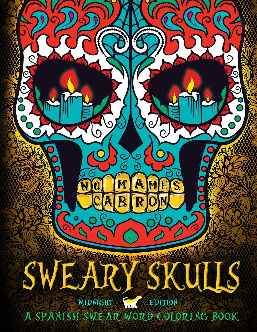 Amazon.com: Sweary Skulls: A Spanish Swear Word Coloring Book ...