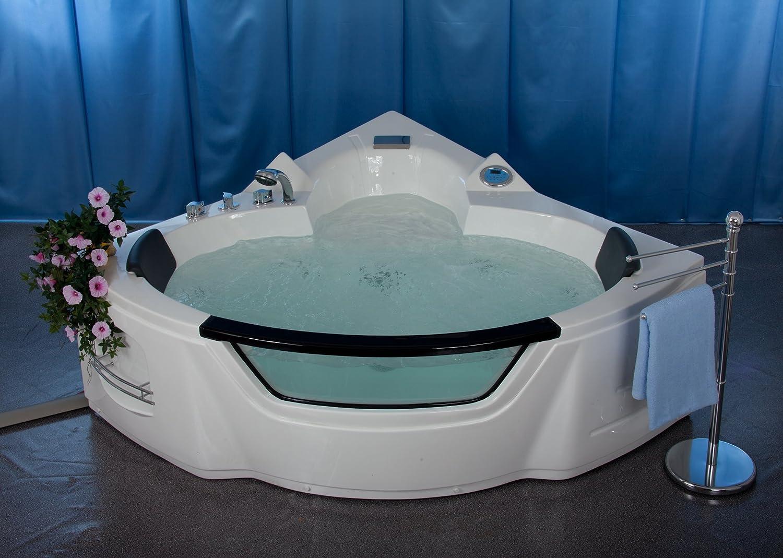 Vasche Da Bagno Easy Life Prezzi : Vasca idromassaggio easylife angolare di design amazon