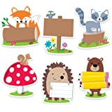 """Creative Teaching Press Incentives, Wall Décor Woodland Friends Cut Outs, 6"""", CT 6099"""