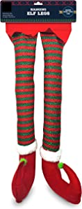 Elf Christmas Decorations For Your Vehicle or Fireplace Assorted Styles And Designs - Hanging Elf Legs for Car Perfect for Holiday Cheer. Colors, Styles and Designs Will Vary From Images Shown.