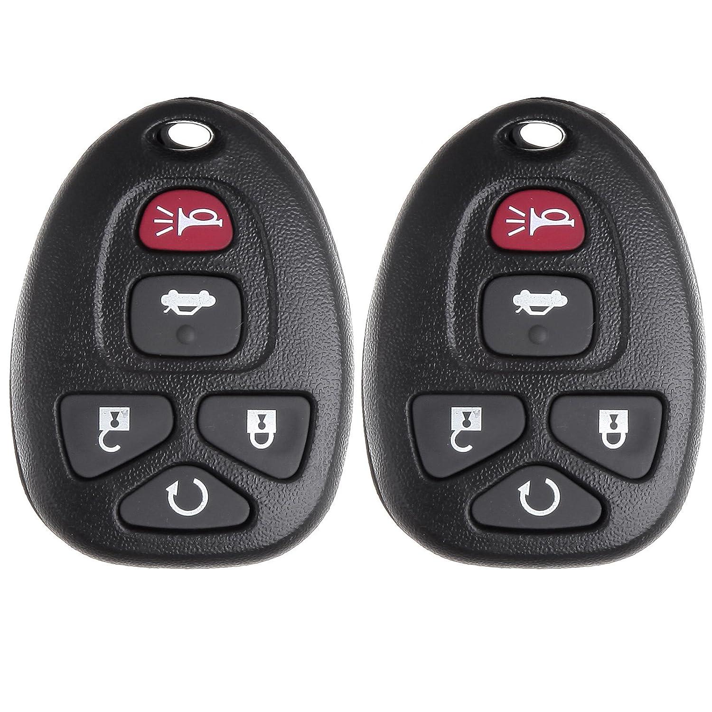 キーレスEntyポンティアック、ECCPP 2 xリモート交換用5ボタン用ビュイックポンティアックSaturn FCC ID : kobgt04 aキーレス送信機 B01IN6RHGW