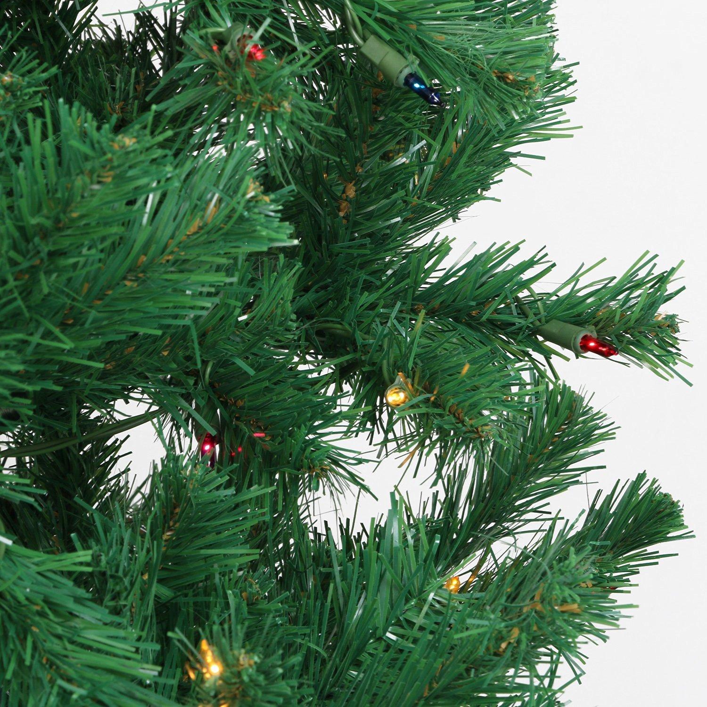 Amazoncom Casa Clausi Christmas Tree 6 12 Feet Pre Lit Multi Colored