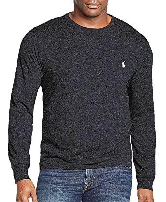 7c8a0b5c Polo Ralph Lauren Mens Big & Tall Long Sleeve Crew Neck T-Shirt | Amazon.com
