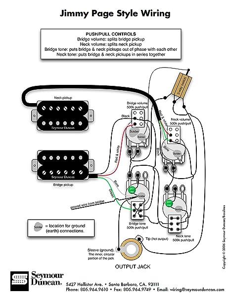 Wiring Seymour Duncan Pickups - Circuit Diagram Symbols •