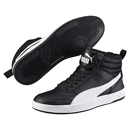 PUMA Rebound Street V2 Fur, Baskets Hautes Mixte Adulte