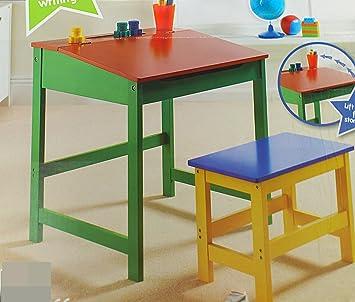 kinder studieren möbel stuhl kinder schreibtisch hocker retro old school studium tisch stuhl möbel